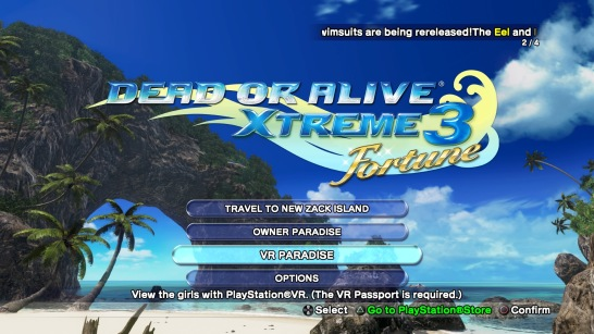 Dead or Alive Xtreme 3: Fortune (PlayStation 4) Quick Look [NSFW