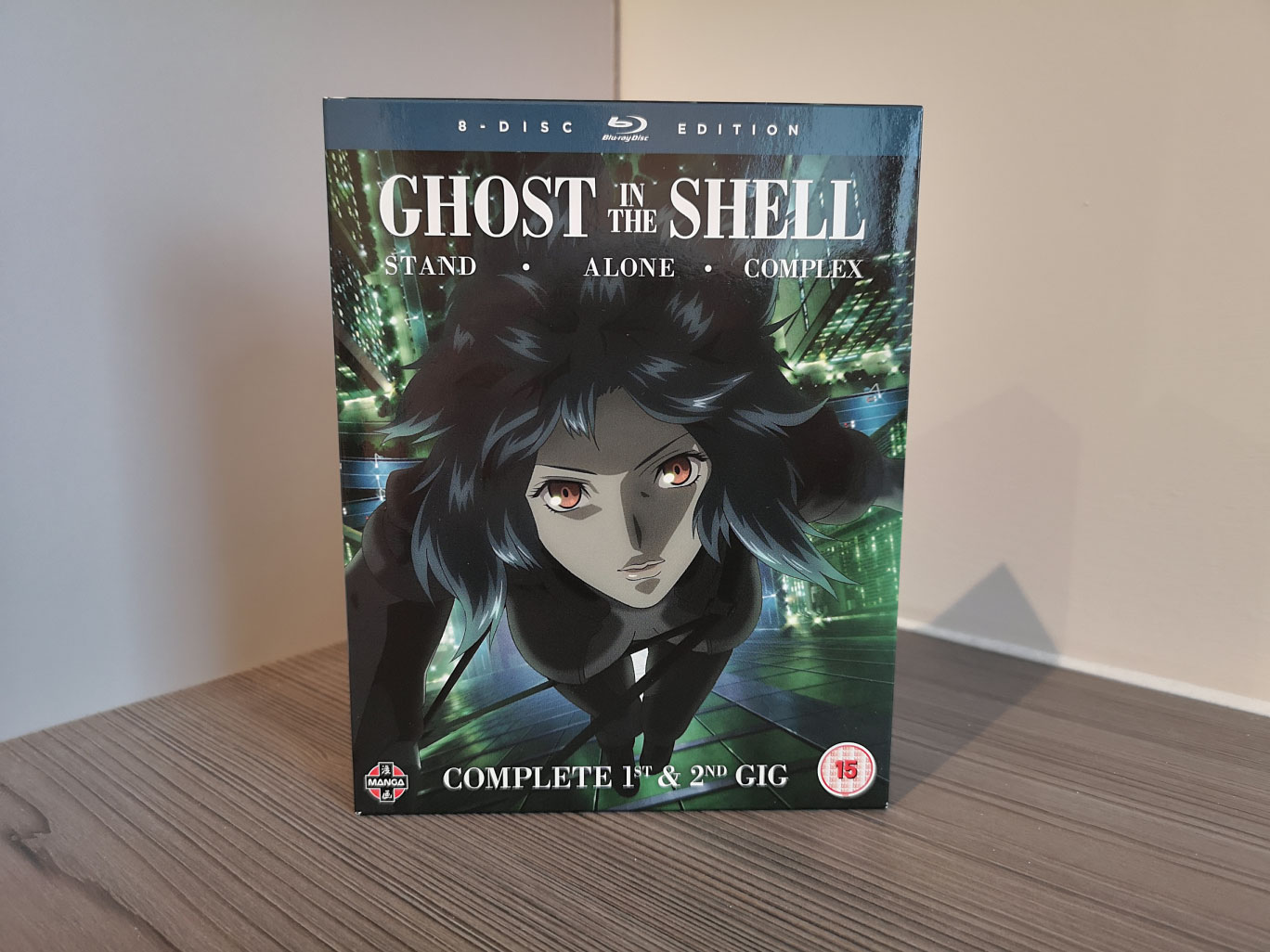 Ghost In The Shell Stand Alone Complex 1st 2nd Gig Blu Ray Unboxing The Normanic Vault