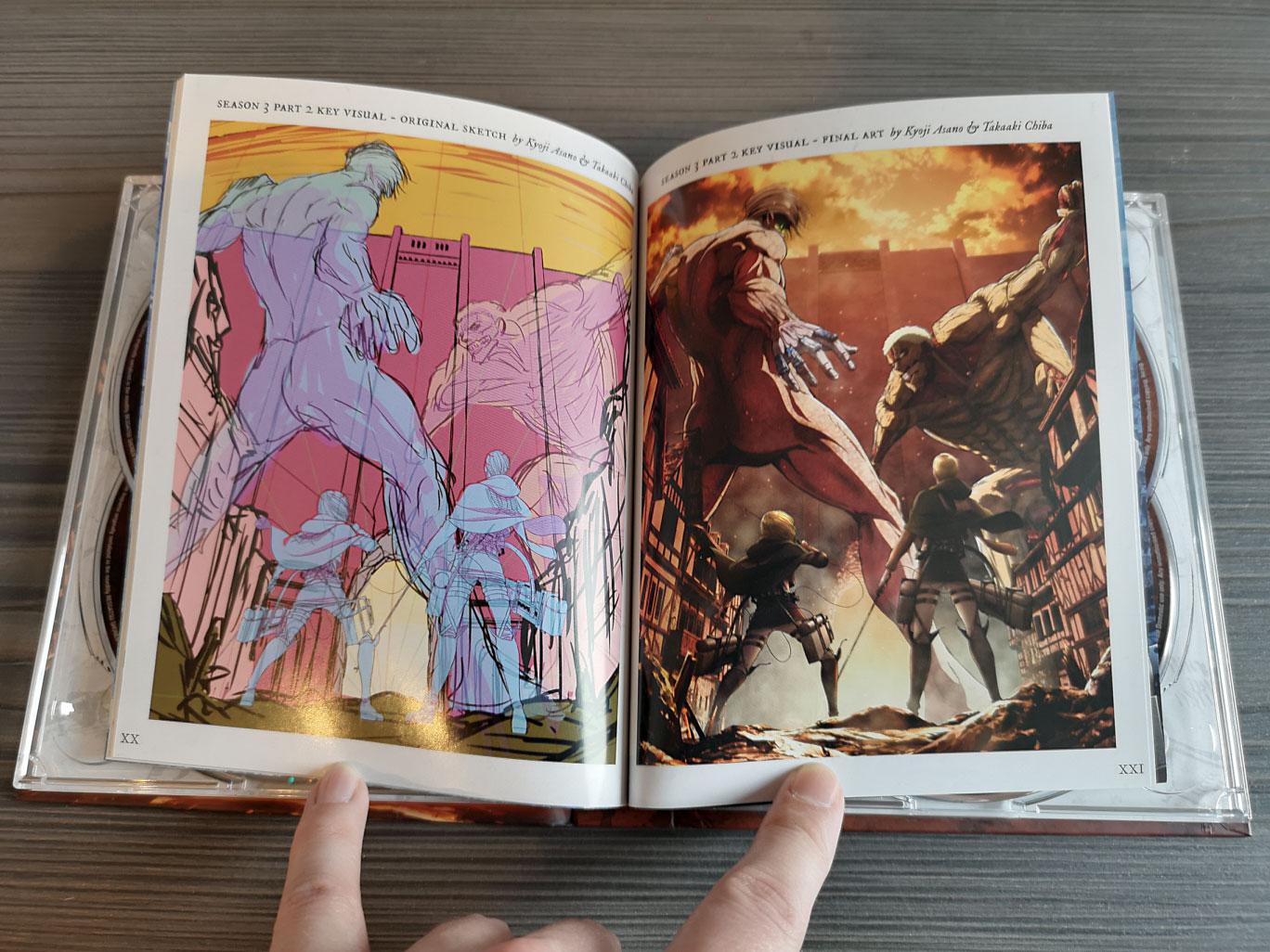 Attack on Titan Season 3 Part 2 (Limited Edition Blu-ray ...