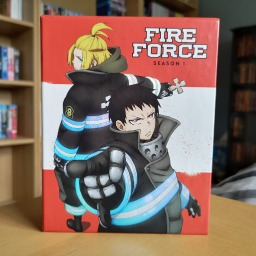 Fire Force Season 1 Parts 1 & 2 (Limited Edition Blu-ray & DVD) Unboxing